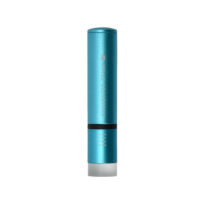 認め印 プロジェクタースタンプAT ブルー 12.0mm
