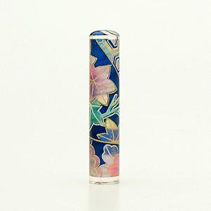 おしゃれはんこ/和紙柄 W-25 (12.0mm)
