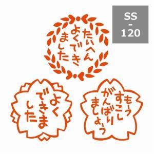 サンビー 先生スタンプ浸透印 (3本組)SS-120