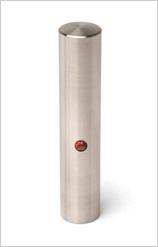 銀行印 コバルトクロムモリブデン 12.0mm【印鑑ケース付】