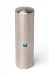 実印 コバルトクロムモリブデン 15.0mm【印鑑ケース付】