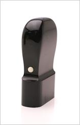 割印 黒水牛(芯持極上) 15×36mm