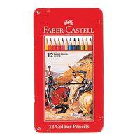 色鉛筆の【FABER-CASTELL/ファーバーカステル】 色鉛筆 12色セット