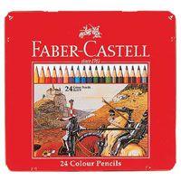 色鉛筆の【FABER-CASTELL/ファーバーカステル】 色鉛筆 24色セット